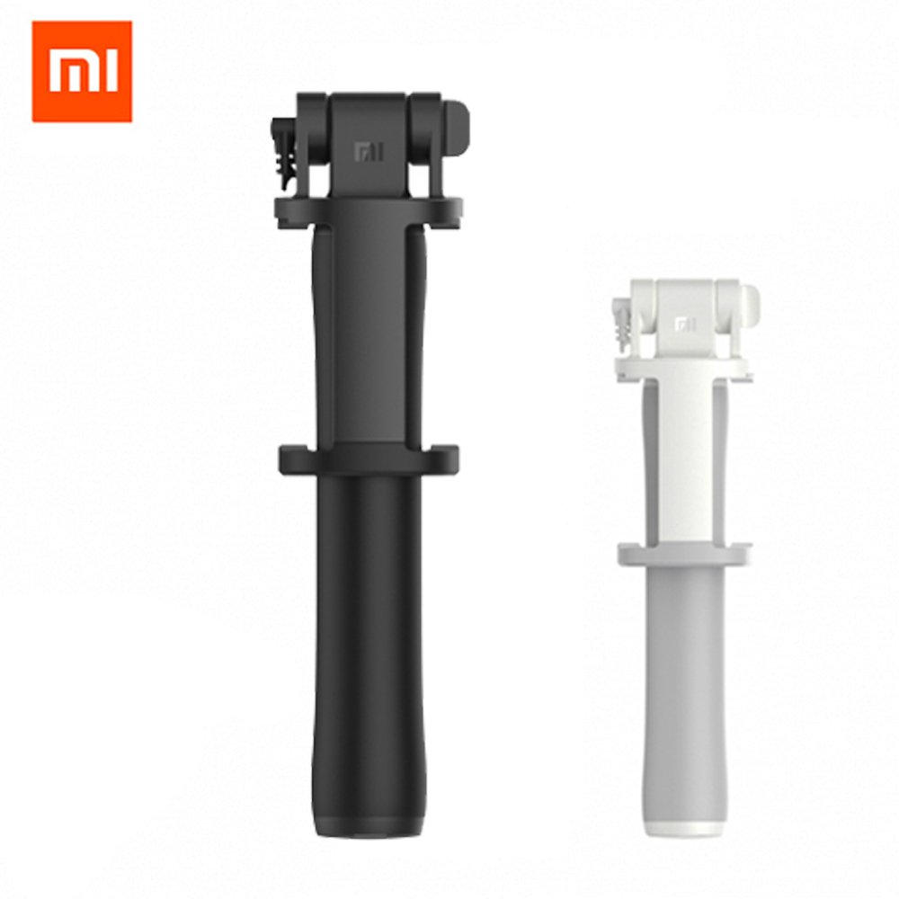 Original Xiaomi selfie stick Monopod Shutter Holder Extendable Handheld Wired Selfie Stick Shutter for IOS Android Mobile Phone metal handheld extendable self selfie stick handheld monopod clip holder bluetooth shutter remote controller for smart phone