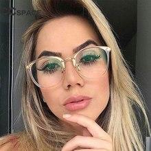 c5ce473fb96c1 CCSPACE Senhoras Armações De Óculos Quadrados Mulheres Transparente Rosa  Claro Óculos Ópticos Prescrição Óculos Óculos De Comput.