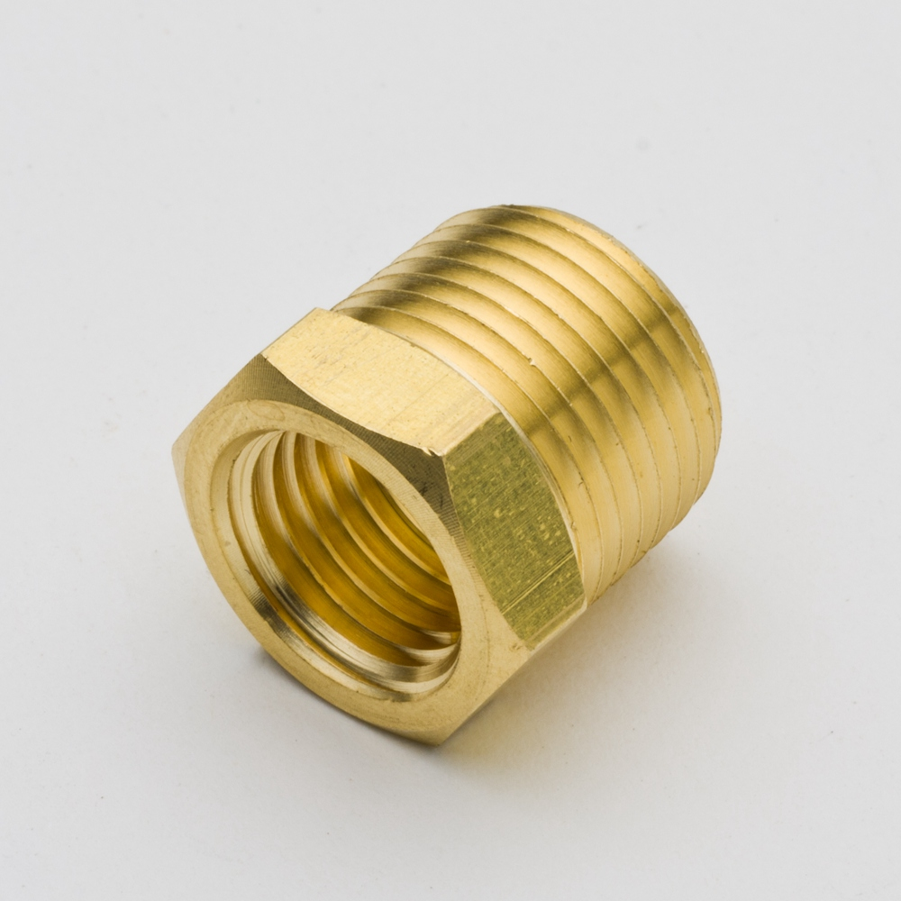Pcs brass hose fitting hex reducer bushing quot x