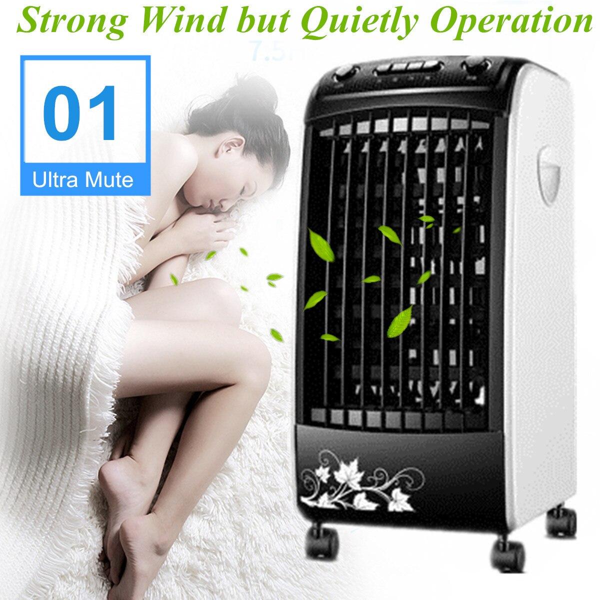 Puissant Vent Climatiseur Conditionné Ventilateur 220 v 65 w 5L 50 hz Hum Haute-densité Protection de L'environnement Calendrier portable