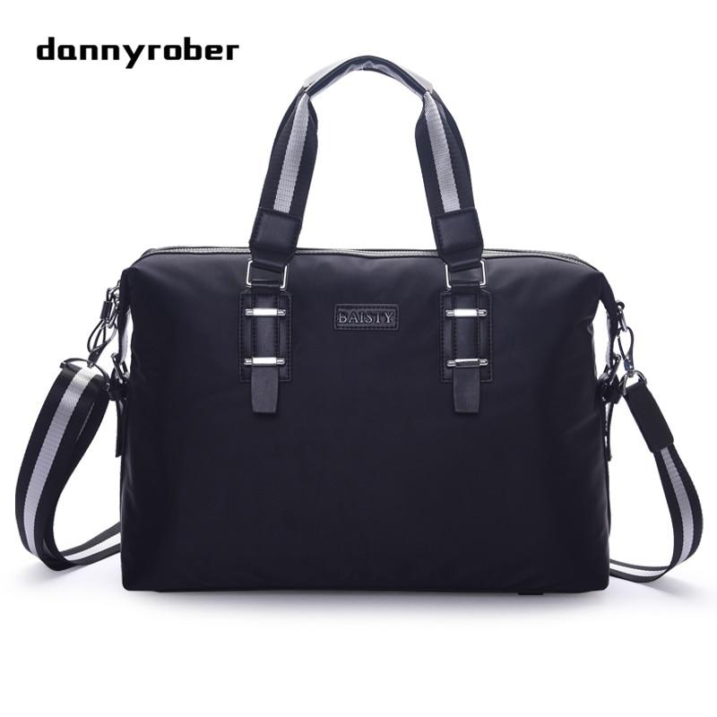 2017 Fashion Men Nylon Bags Male Messenger Bags Men's Large Capacity Briefcase Man Casual Crossbody Shoulder Handbag 1A