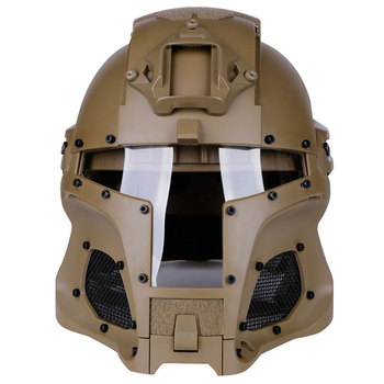 Tactical Medieval Style Combative Helmet for Paintball Cosplay Costume