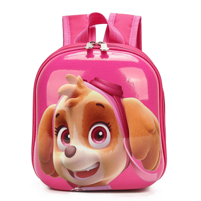 2018 New 3D Bags for Girls/Boys backpack kids Puppy Cartoon School Bags for  student