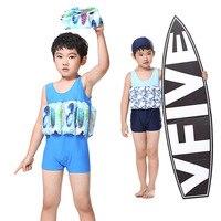 Summer Girls Boys Swimwear 4 7 years Kids Brand Float Vest Children Swimsuit Toddler Swimwear for Girls Boy Swim Trainer