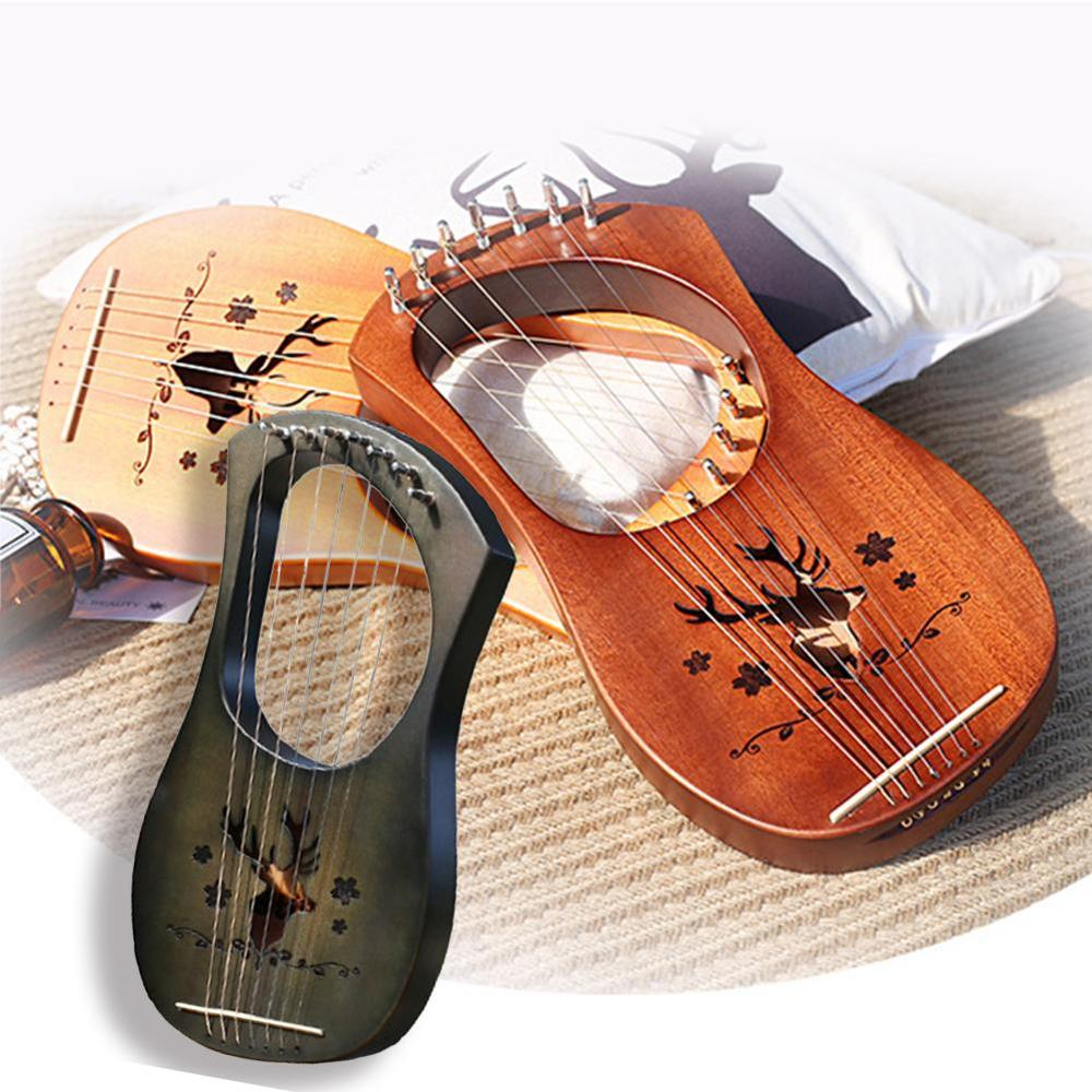 Lyra Harp Lyre small harp Le Qinqin Greek musical instrument high quality beginner lecturer