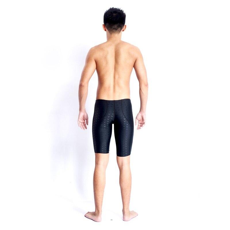Купальный костюм Мужская одежда для купания Sharkskin для мальчиков плавки мужские s Sunga профессиональные конкурентные купальные костюмы Arena Badpak черный