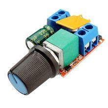 LIXF-Мини DC мотор контроллер скорости ШИМ 3V 6V 12V 24V 35VDC 90W 5a DC мотор контроль скорости переключатель светодиодный диммер