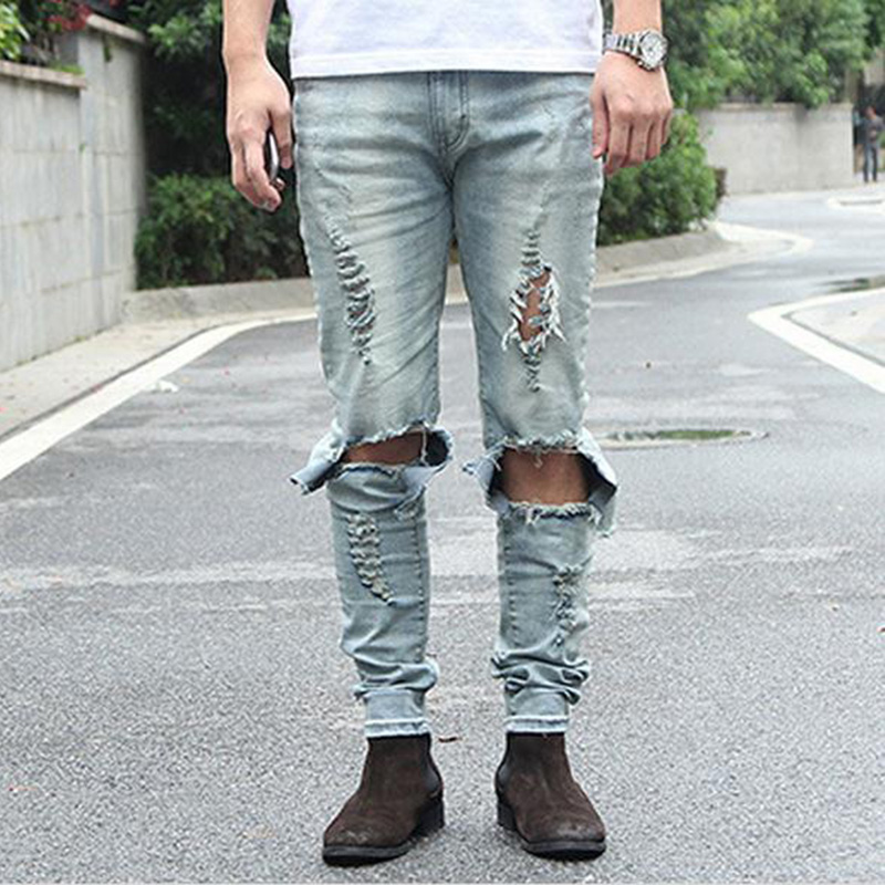Online Get Cheap Skinny Destroyed Jeans -Aliexpress.com | Alibaba ...