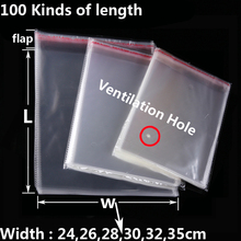 Clear Self Sealing Plastic Bags Clothing Toy Gift Packaging Bag Self-adhesive Resealable OPP Poly Transparent Baggie