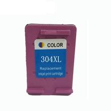 vilaxh 304 XL Remanufactured Tri-Color Ink Cartridge Replacement for HP 304xl Deskjet 3700 3720 3730 3732 Printer