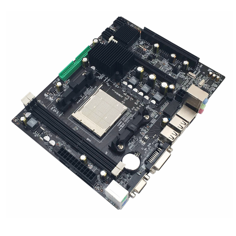 216*168mm AMD A780 Computer Motherboard AM3 AM3+ 8GB 2*DDR3 1066/1333/1600 MHz Mainboard Support SATA VGA DVI image