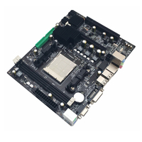 216*168mm AMD A780 Computer Motherboard AM3 AM3+ 8GB 2*DDR3 1066/1333/1600 MHz Mainboard Support SATA VGA DVI