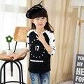 Autumn Spring T Shirts Children's Long-Sleeve Shirt Cartoon T-Shirts Cotton Sweet Shirts Girls T Shirts Kids Girls Cute Counters