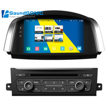 Quad Core Android 4.4.4 For Renault Koleos For Samsung QM5 Car Stereo DVD GPS Navigation Sat Navi Multimedia Audio Video Player