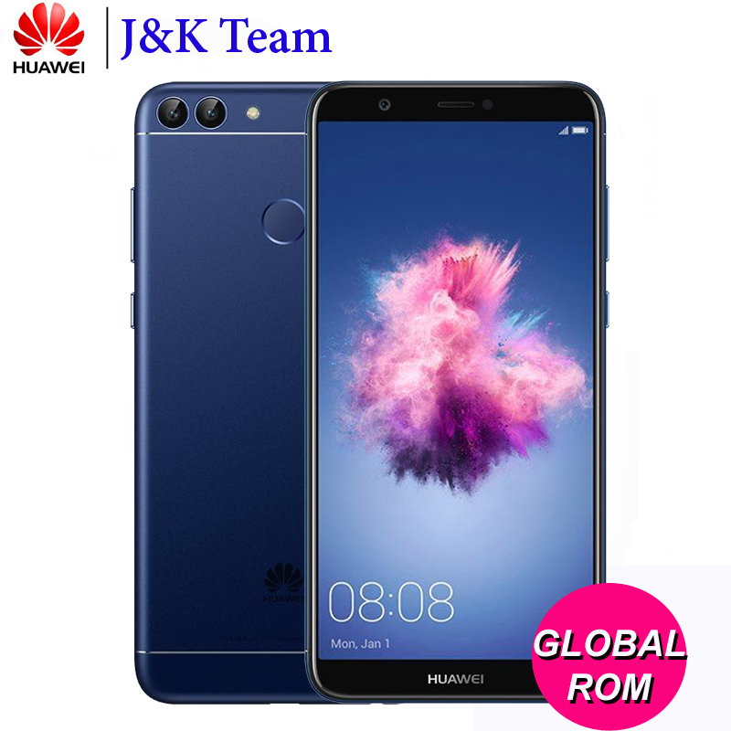 "Huawei P Smart Phone PSmart Global Firmware Enjoy 7S LTE Smartphone Twincamera 5.65"" Full View Screen Octa Core Android 8.0"