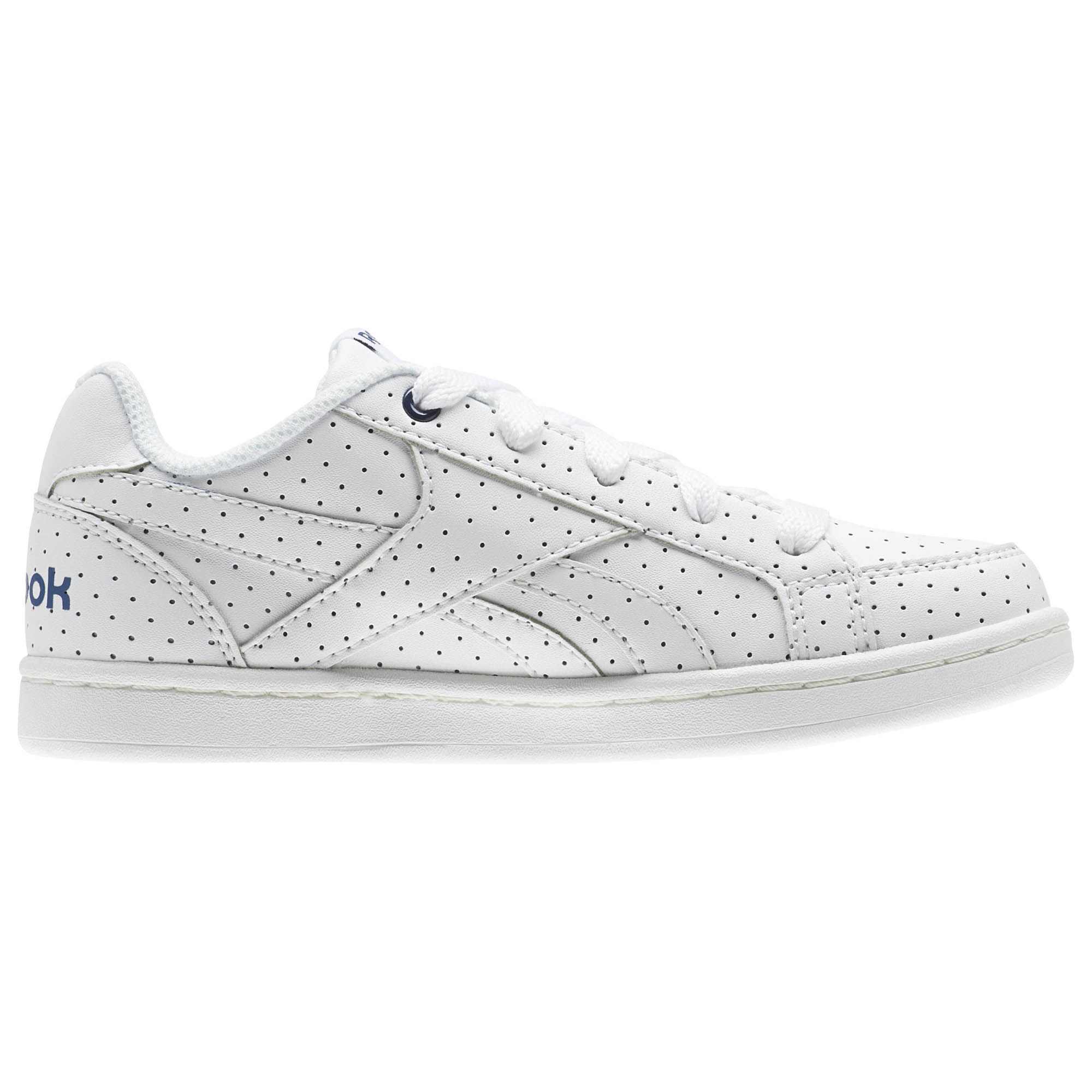 REEBOK Child shoes Unisex REEBOK ROYAL PRIME, free and Time sportwear, White Washed Blue