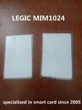 Yongkaida 2000pcs 13.56Mhz LEGIC MIM1024 chip Blank ic card printable 1K smart card