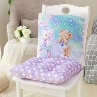 Cartoon Cute Japan Duffy Bear Stellalou Rabbit Plush Back Cushion Pillow Waist Pad