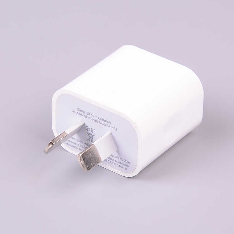 5V 2A Australia Nueva Zelanda AU cargador de pared interfaz Dual adaptador de corriente USB para iPhone para Samsung Smart teléfono