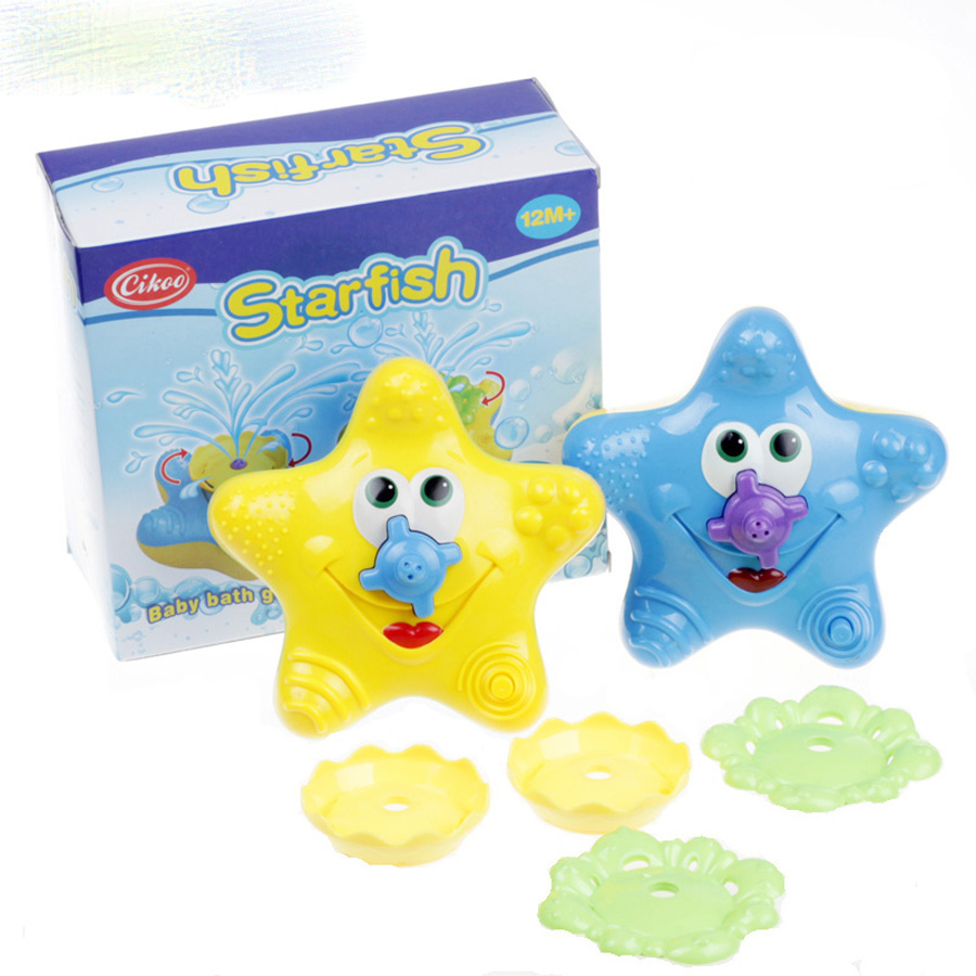 buy bathing water bath toy starfish baby sassy toys swimming toys wj083 from. Black Bedroom Furniture Sets. Home Design Ideas