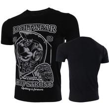 VSZAP Fightwear Since 2018 Keep Strong Fighting MMA Fitness Workout Men T-Shirt UFC Fight Muay Thai Sanda Tee Shirt