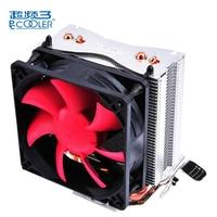 Pccooler HP 825 Mini CPU Cooler Fan Pure Cooper Heatpipe Silent Cooling Radiator Fan For Intel