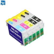 T1291/T1291-T1294 многоразовый картридж для epson Stylus Office BX320FW BX320 с микросхемами Arc 5 шт