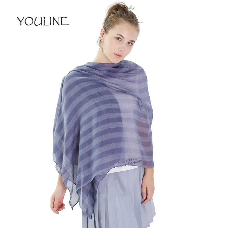 YOULINE New Arrival 2017 Winter   Scarves   Women shawl pashmina cachecol Scarfs Foulard Cotton shawls   Scarf     wrap   S17175