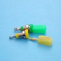 2mm enchufe de plátano caja a un conjunto de señales de cabeza instrumento enseñanza equipo fuente de alimentación de calidad