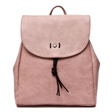 Для женщин мода рюкзак розовый замок рюкзак высокое качество из искусственной кожи Рюкзаки для подростков Обувь для девочек Крепкие Наплечные сумки Mochila XA983H