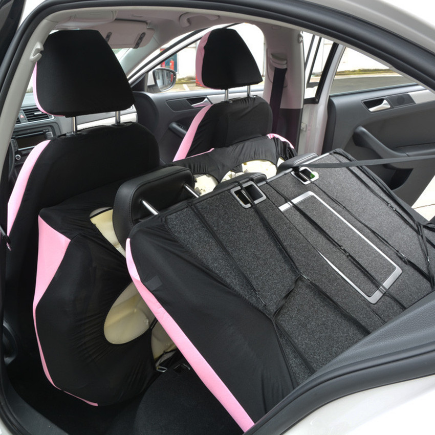 Free shipping Interior Accessories Universal Fit Car Seat Cover Auto Seat Cushion Cover Pink Car Styling Car Seat Protector in Automobiles Seat Covers from Automobiles Motorcycles