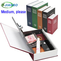 Wholesale Medium Cipher Jewellery Storage Box Secret Book Money Secret Security Safe Lock Cash Money Storage