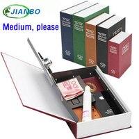 Wholesale Medium Cipher Jewellery Storage Box Secret Book Money Secret Security Safe Lock Cash Money Storage