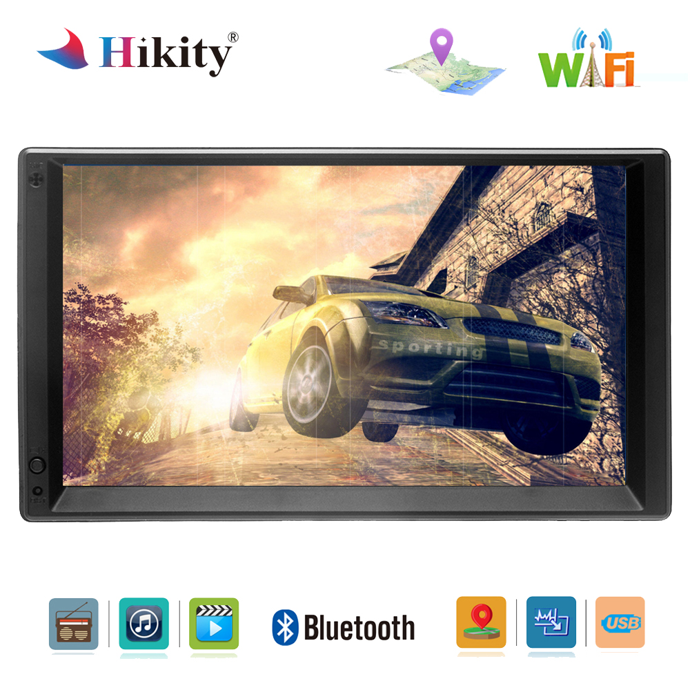 Hikity Android 2 din Car Multimedia Player 7