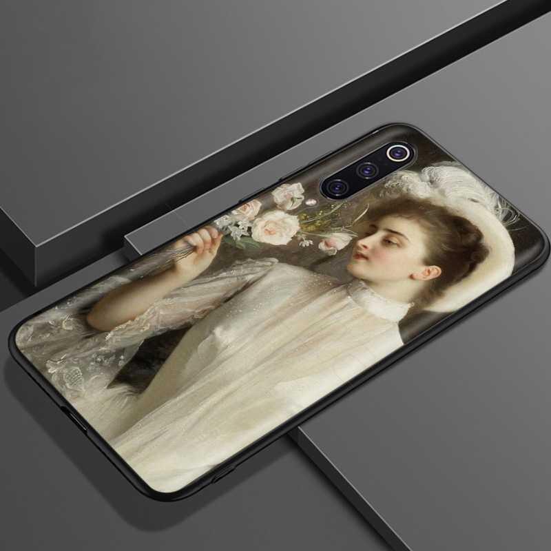 Lavaza Tranh Cổ Điển Hoa Thẩm Mỹ Dành Cho Xiaomi Redmi Note 8 8A 7 6 6A 5 5A 4 4X 4A đi Pro Plus Thủ