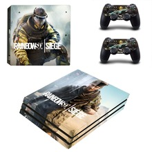 Tom Clancy's Rainbow Six Siege PS4 Pro Skin Sticker For Sony PlayStation 4 Pro Console and Controllers PS4 Pro Stickers Decal