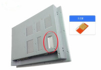 15 Inch LED Backlight TFT LCD Fanless Mini Industrial Panel PC With 1 X PCIe Slot