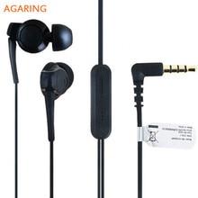 Agaring Headset EX300AP For Sony Xperia Z3 Z2 Z1 XA1 Ultra L55T XL39h  C6833 L39h in-ear Sports Earphone with Mic Remote Control запчасти для мобильных телефонов sony lt36h l39t z1 z2 z3 z3mini lt39t z3 z4 xl39h