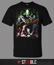 Creepypasta Family T-Shirt - Direct from Stockist New T Shirts Funny Tops Tee Unisex  High Quality Casual Printing