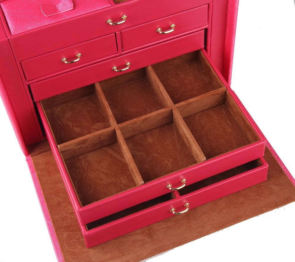 Large Luxury Quality Jewelry Watch Boxes Jewellery Storage