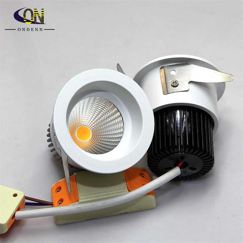 10pieces 9W COB led downlight led Indoor House lighting,led celing light,led downlight 9W ,warm white/cold white,AC85-265V