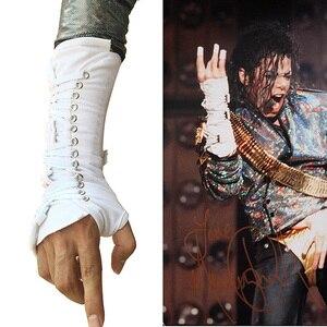 Image 2 - MJ Майкл Джексон Dangerous Тур куртка Джексона & комплект с ремнем Pro серии для подарка Perfomance имитация Хэллоуин