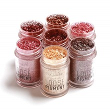 Loose Pigment Waterproof Long Lasting Shimmer Glitter Powder Eye-shadow