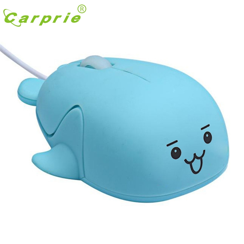 CARPRIE Cute Wired Mouse 1200 DPI USB Optical Computer Gaming Mice For PC Laptop Jan18 MotherLander