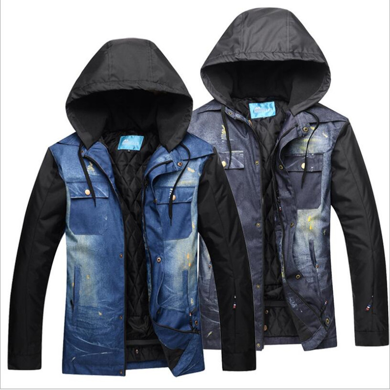 Men Ski Jacket Windproof Waterproof Outdoor Sport Wear Skiing Snowboard Winter Clothing Male Coat Super Warm Jacket Breathable 2018 riviyele men ski jacket snowboard jacket winter clothing windproof waterproof breathable outdoor sport wear super warm coat
