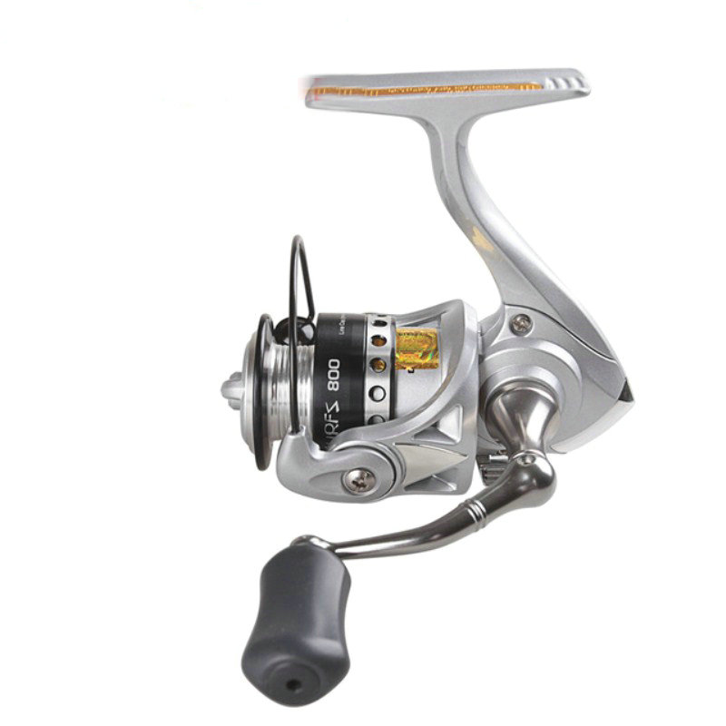 Hot! Spinning Fishing Reel 5.2:1/3+1BB 500/800 Size Molinete Para Pesca Spinning Reel Moulinet Peche Steering Wheel Feeder YL-82