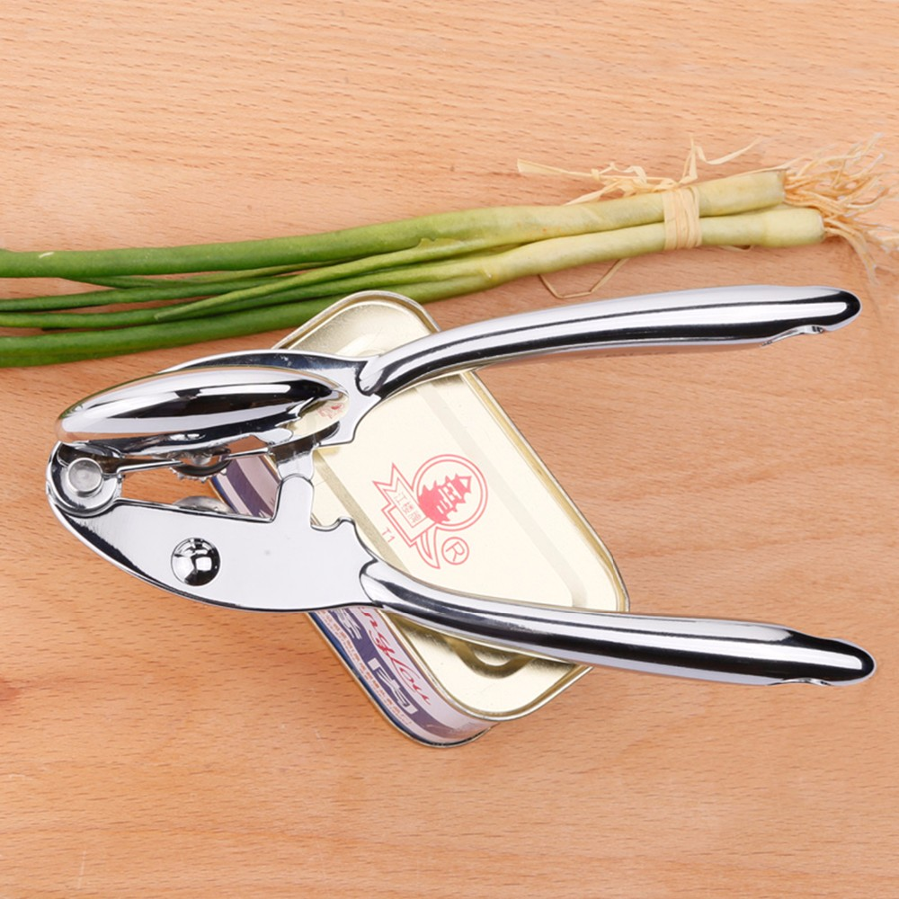 New Zinc Alloy Heavy Duty Can Opener For Canned Food With Ergonomic Shape 13