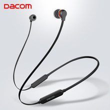Dacom L06 Wireless Earphones Neckband Bluetooth Headphone Slim High Quality Bluetooth Headset with Handsfree for iPhone Android(China)