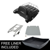 Chopped Tour Pak Trunk Luggage Rack Backrest For Harley Road King Street Glide Special Road Glide 14 18