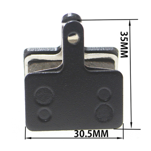Image 2 - 6 Pairs Bicycle Brake Pads B01S for Shimano BR T615 m355 m375 m395 m416 m446 m447 for Orion/Auriga/Draco MTB Disc Brake